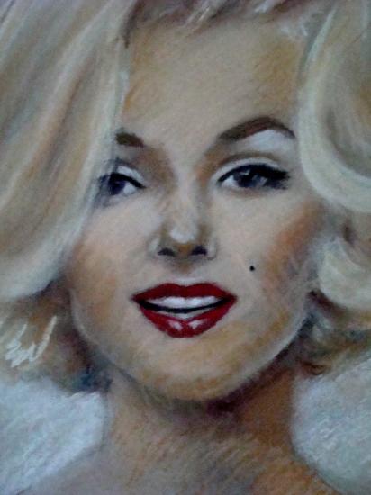 Marilyn Monroe by byzoul